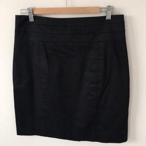 H&M women's black pencil skirt